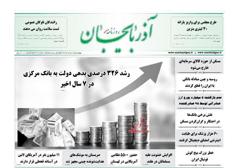 روزنامه آذربایجان